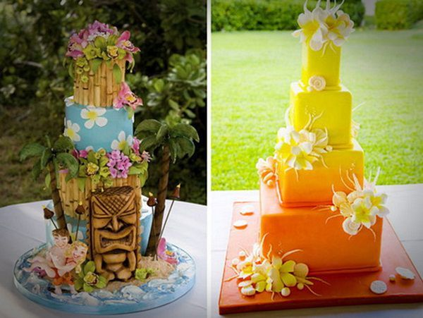 tropical themed wedding cakes hawaiian wedding cake best hawaiian wedding cakes 21273