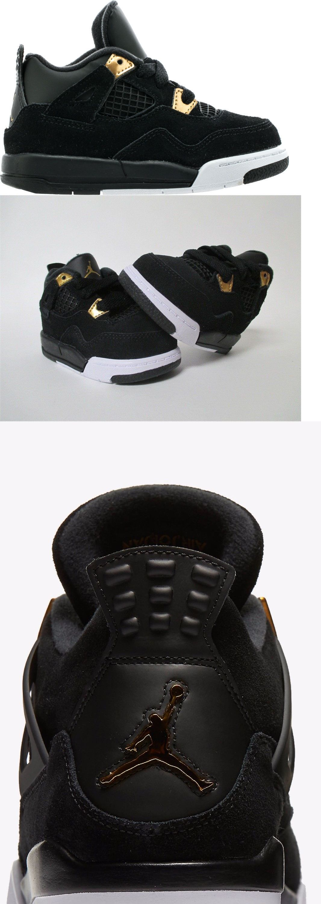Baby Shoes 147285: Nike Air Jordan Retro 4 Bt 368500-032 Leather Toddler  Shoes