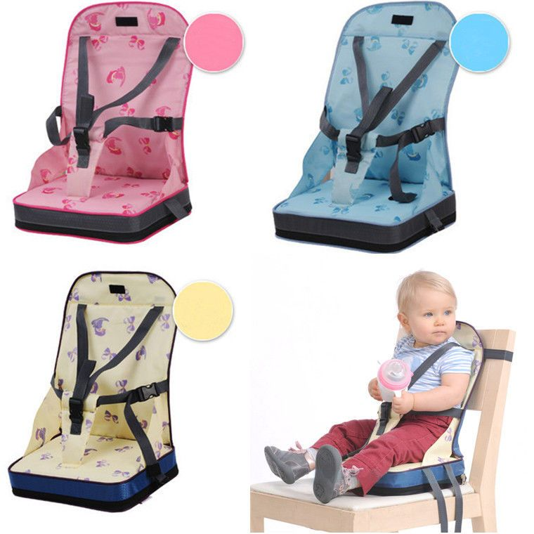 Portable Baby Kids Toddler Feeding High Chair Booster Seat Cover