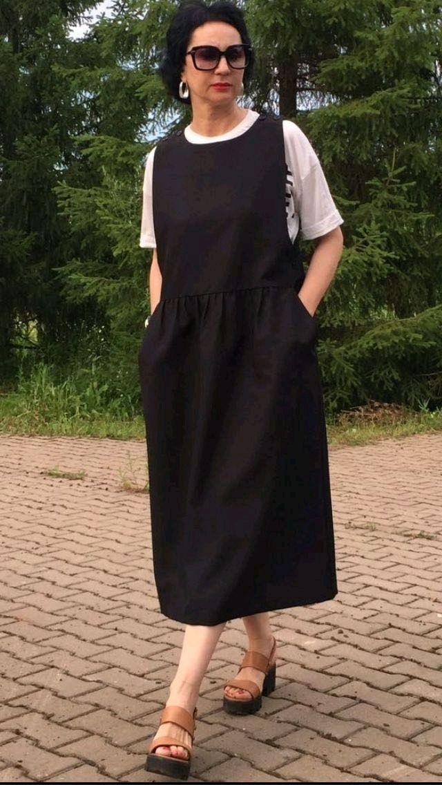 d76cc2016f192 Платья ручной работы. Ярмарка Мастеров - ручная работа. Купить Сарафан из  костюмной ткани на каждый день (2). Handmade. Сарафан