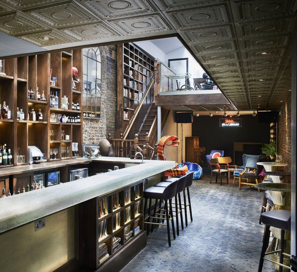 Of the best library bars in london