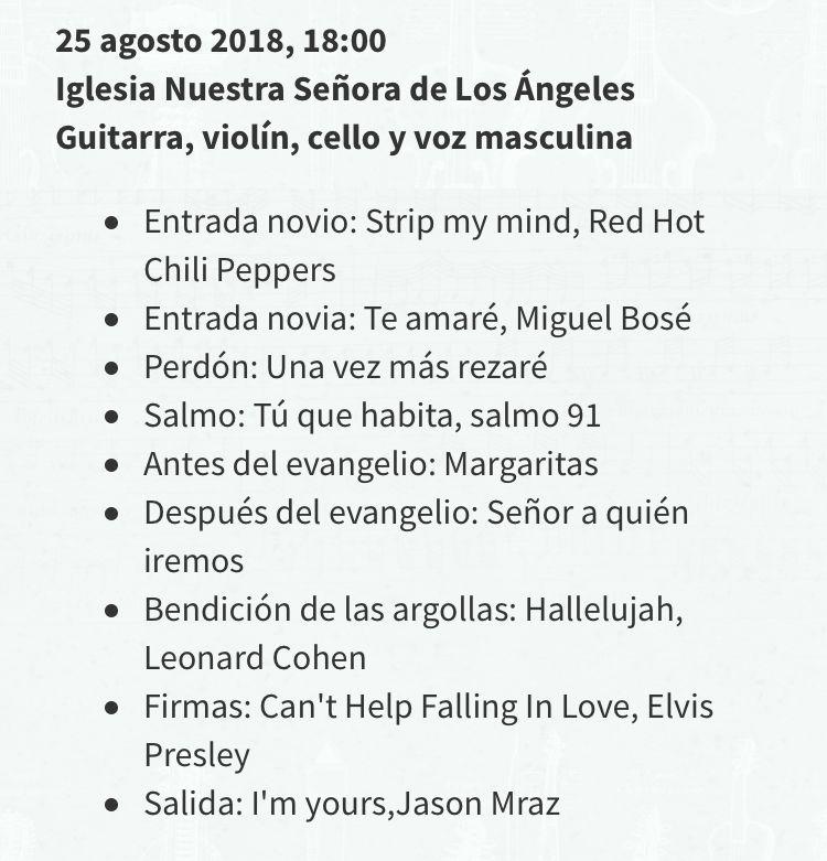 Repertorio Matrimonio Ceremonia Religiosa Música Matrimonios Chile Músicos Para Eventos Agez Lista De Canciones N Ceremonia De Matrimonio Canciones Matrimonio