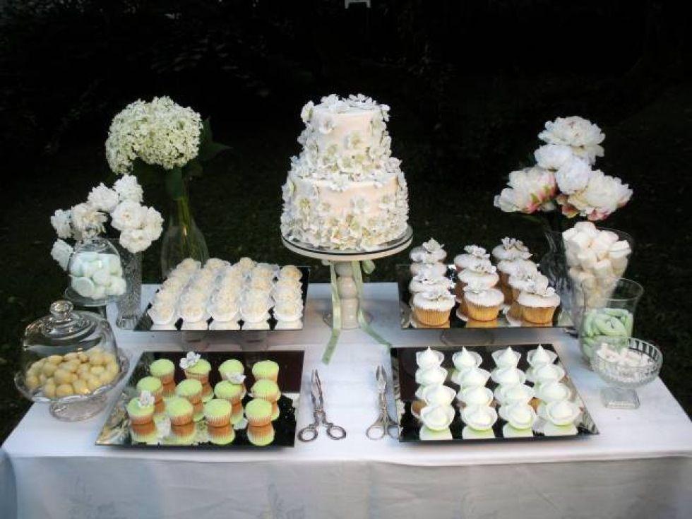 vitt är fint   Dessert bars, Bröllop dessertbord, Dessert ...