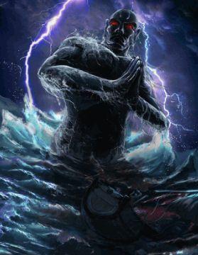 asian meet black monster