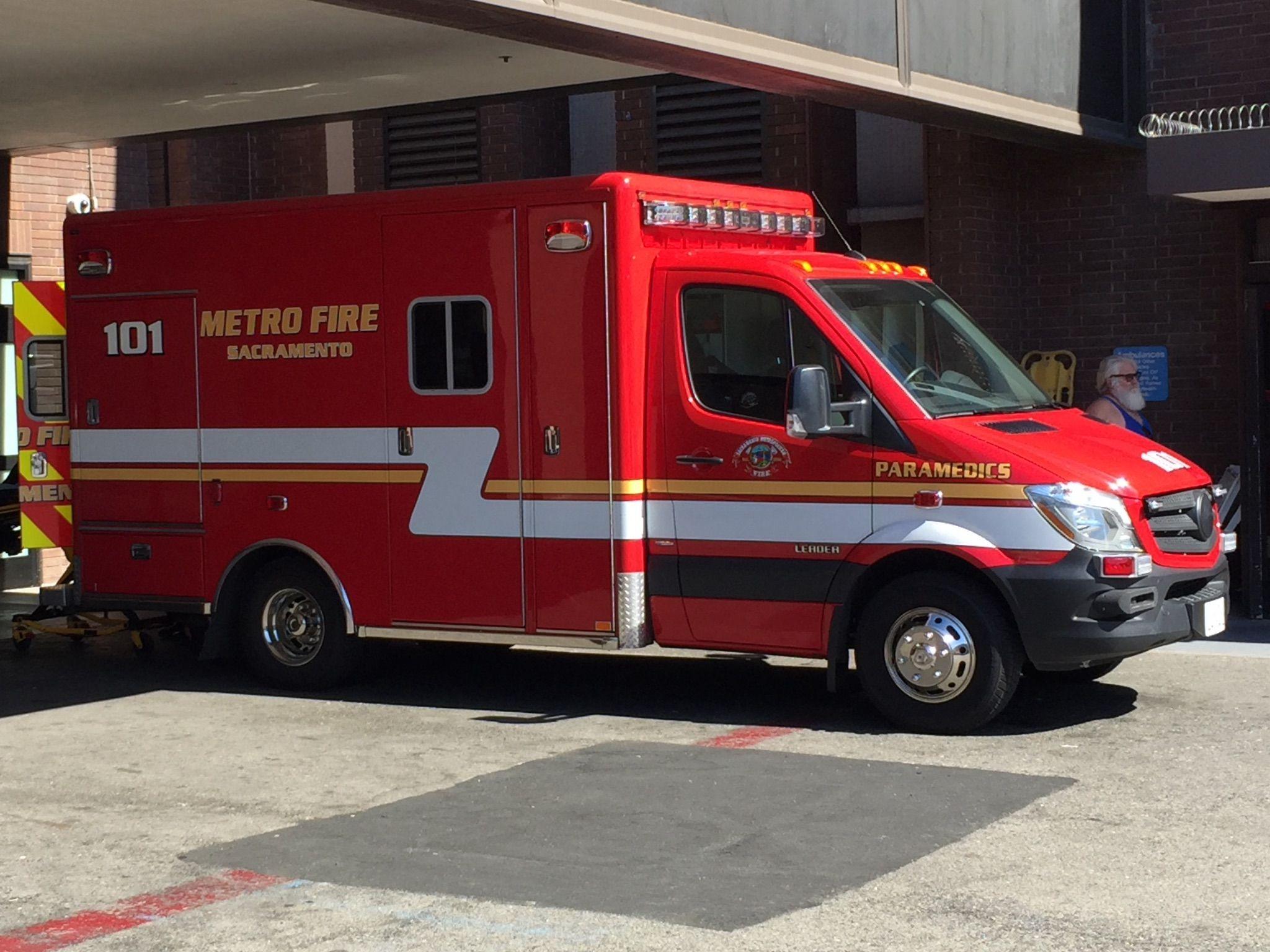 Sacramento Metro Fire Ambulance Mercedes Modular