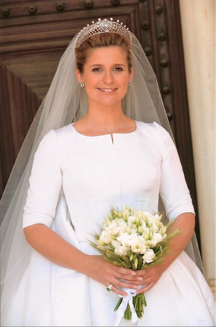 The wedding of Prince Charles-Philippe d'Orleans, Duke of Anjou to Diana Álvares Pereira de Melo, Duchess of Cadaval in 2008.