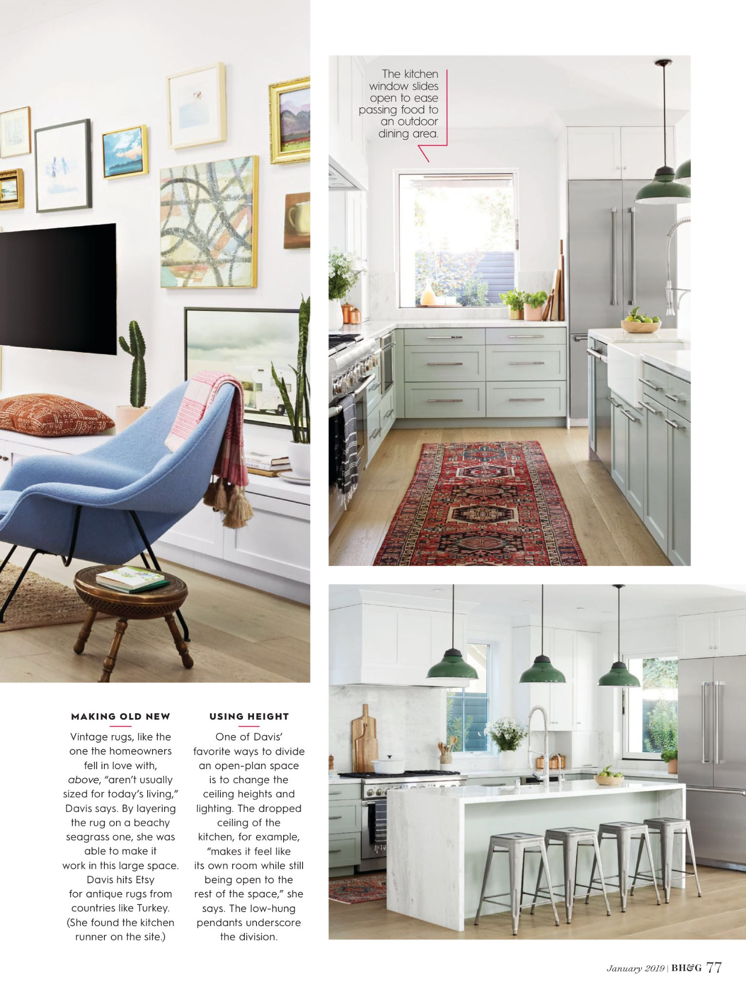 """""""Blank Canvas"""" From Better Homes And Gardens, January 2019"""