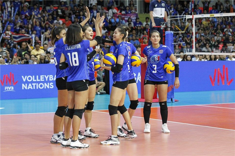 World Volleyball Is Under Construction Volleyball League Thailand