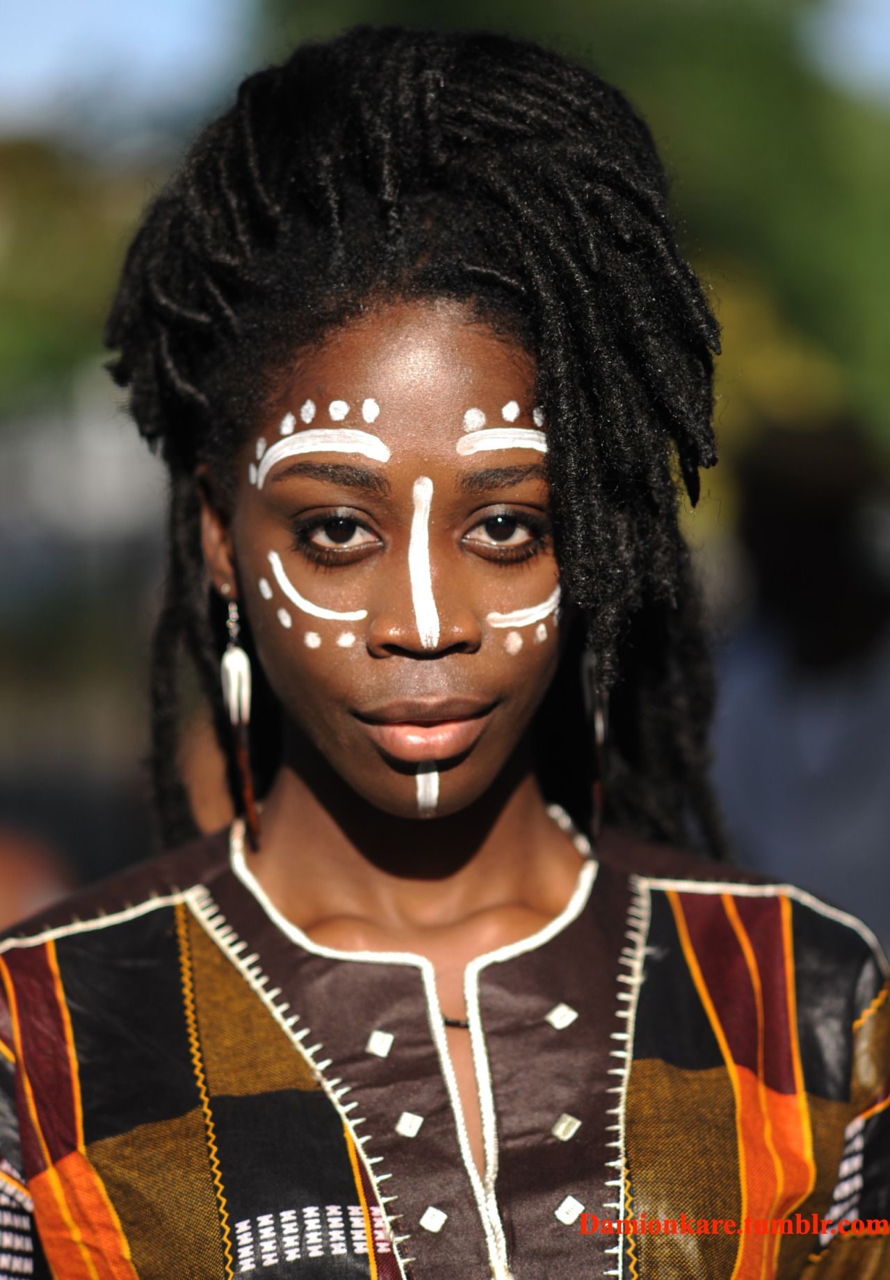 African makeup african hair african goddess african style african - Goddess Makeup Black Girls Black Women African Beauty Black Beauty Body Paint The Black Dramatic Makeup Afro Style
