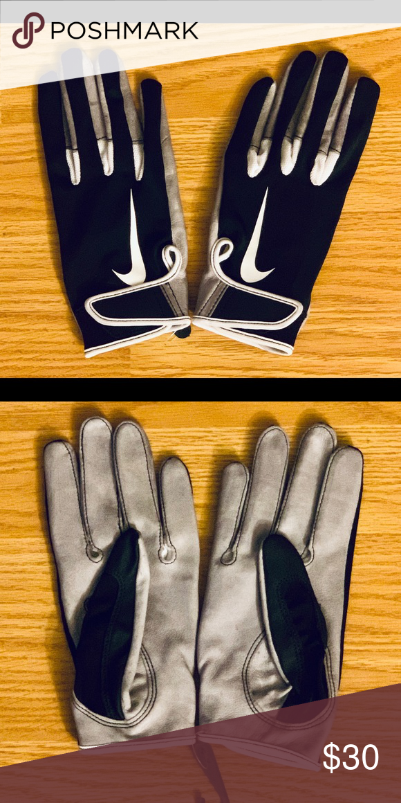 NEW Nike Tacky Leather Football Gloves