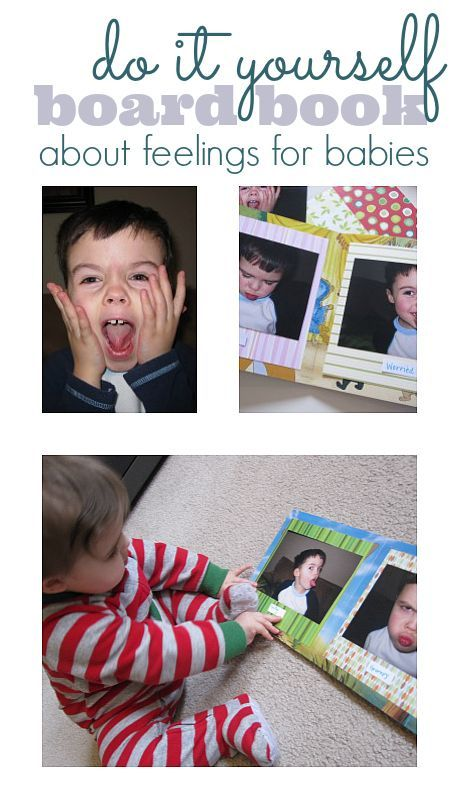 Diy board book about feelings feelings board and curriculum make your own board book about feelings using photos and a familiar face solutioingenieria Images
