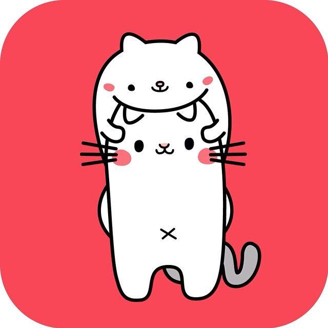 ねこかぶりねこ Cat on cat #cat #cats #catsagram #instagood #kitty #kitten #animal #animals #catsofingram #ilove #awesome #catsagram #nya #meow #かわいい #ねこ部 #illustagram #猫 #ねこ #イラスト #絵