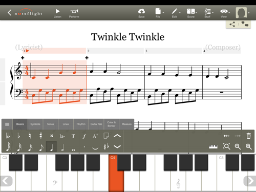 Best Music Notation Apps for iPad Teaching music, Music