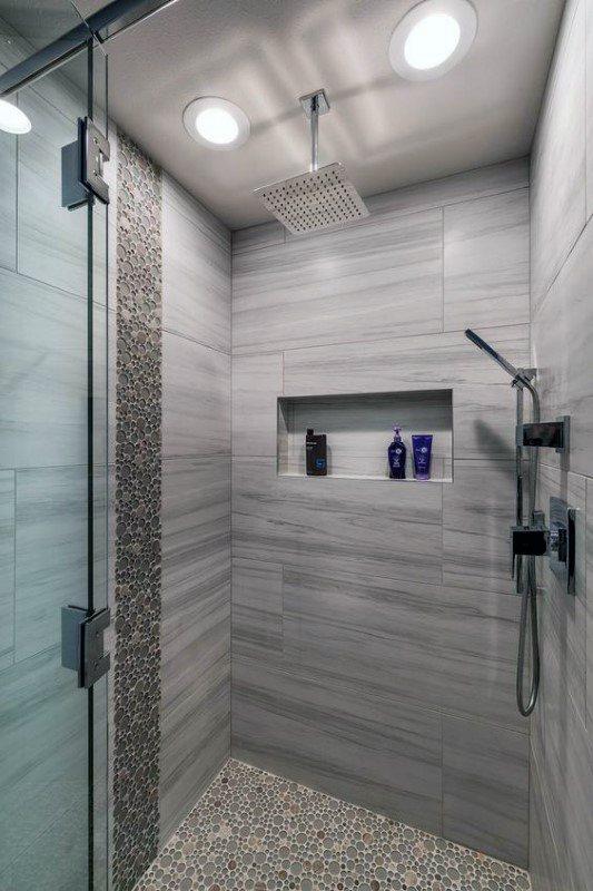 Top 50 Best Modern Shower Design Ideas Walk Into Luxury Modern Shower Room Modern Shower Design Modern Shower