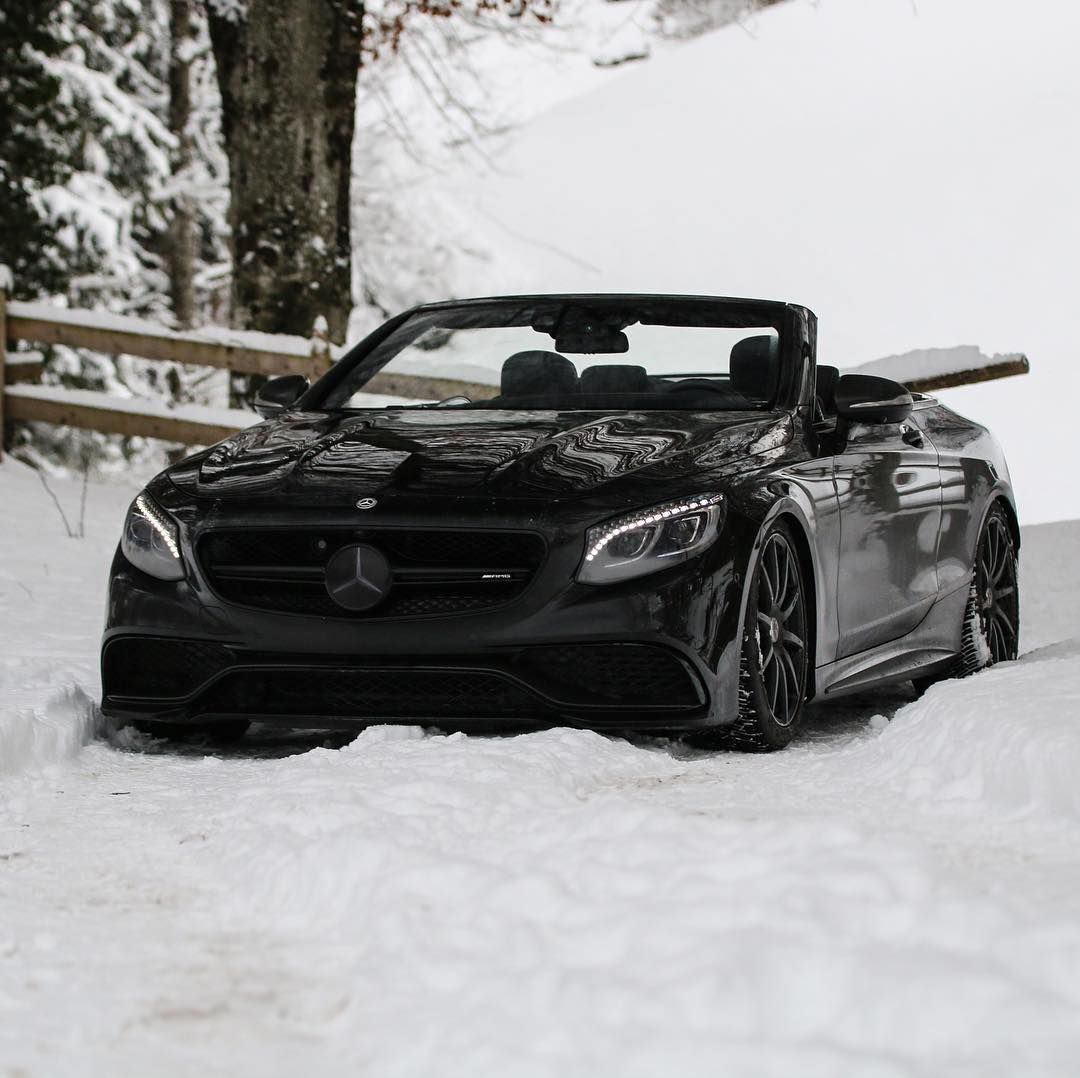 """Snow Vehicle. @gaash.i #MercedesBenz #S63 #AMG"