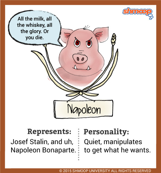 Theme In Animal Farm Book Napoleon Quotes Writing Prompt By Chapter