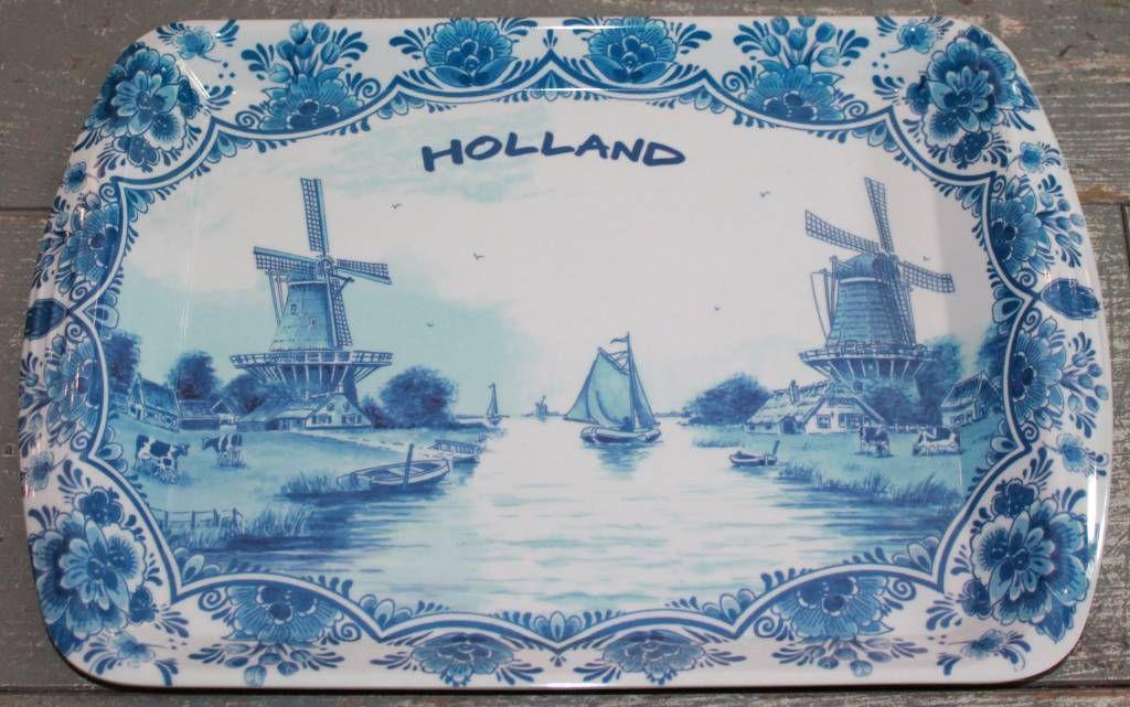 Dienblad Holland (groot)