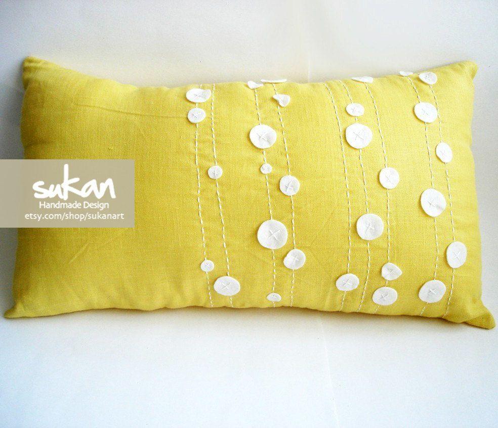 Sukan linen pillow cover x yellow pillows pillows and etsy