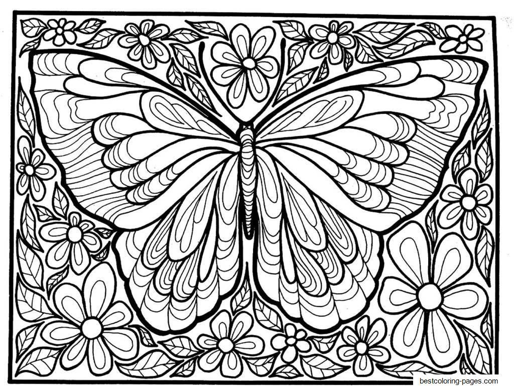 16 Printable Colouring Pages For Adults Insect Coloring Pages Butterfly Coloring Page Animal Coloring Pages