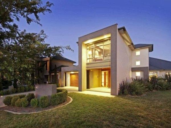 hermosas fachadas de casas modernas y simples