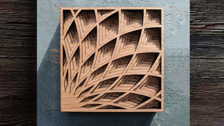 Art Deco Shadow Box Scroll saw patterns, Scroll saw