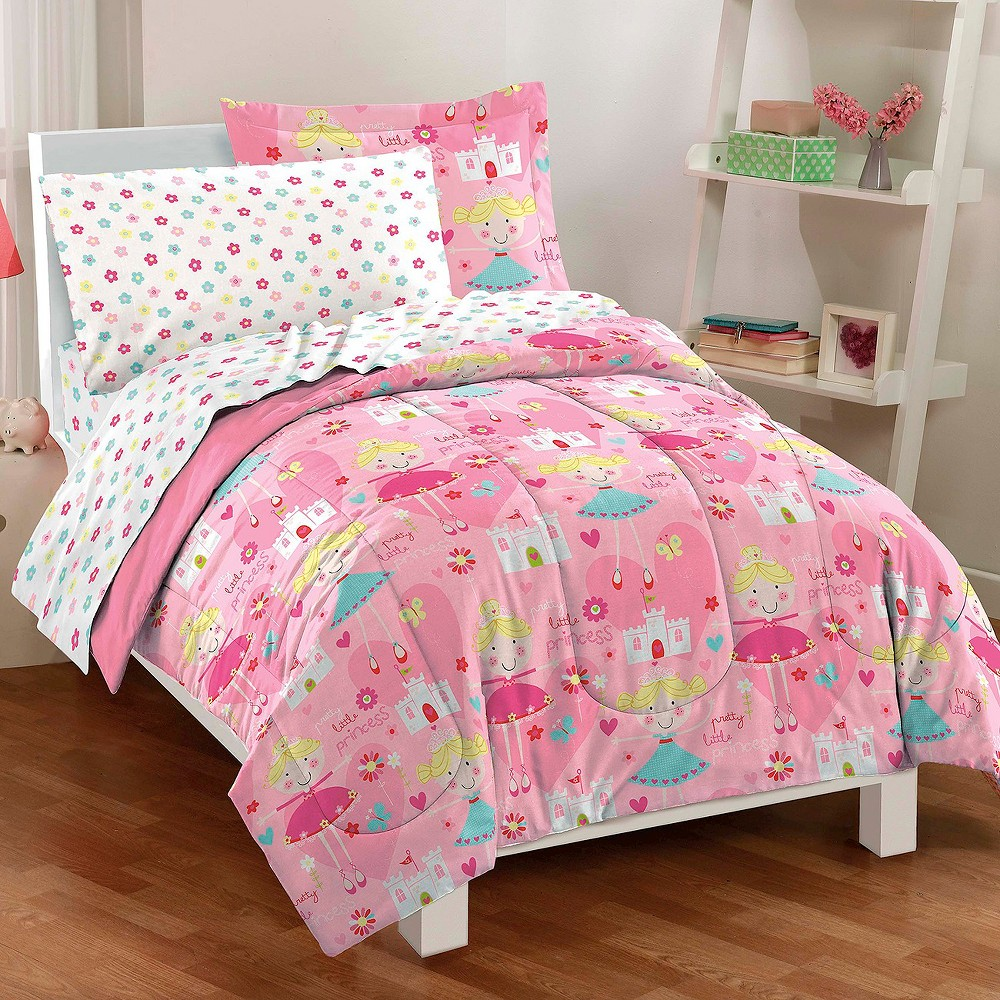 Dream Factory Pretty Princess Mini Bed in a Bag Pink