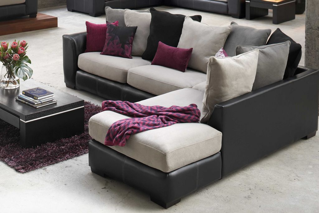 Arizona 3 Seater Corner Lounge Suite with Chaise from Harvey Norman ...