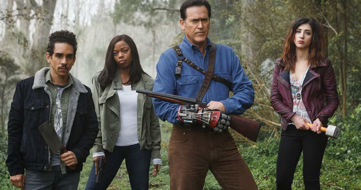'Ash Vs. Evil Dead' Action Figures Arrive at Toy Fair 2016 -- The Starz series 'Ash Vs The Evil Dead' is getting a new set of action figures from Neca Toys, expected to hit stores later this year. -- http://movieweb.com/ash-vs-evil-dead-action-figures-toy-fair-2016/