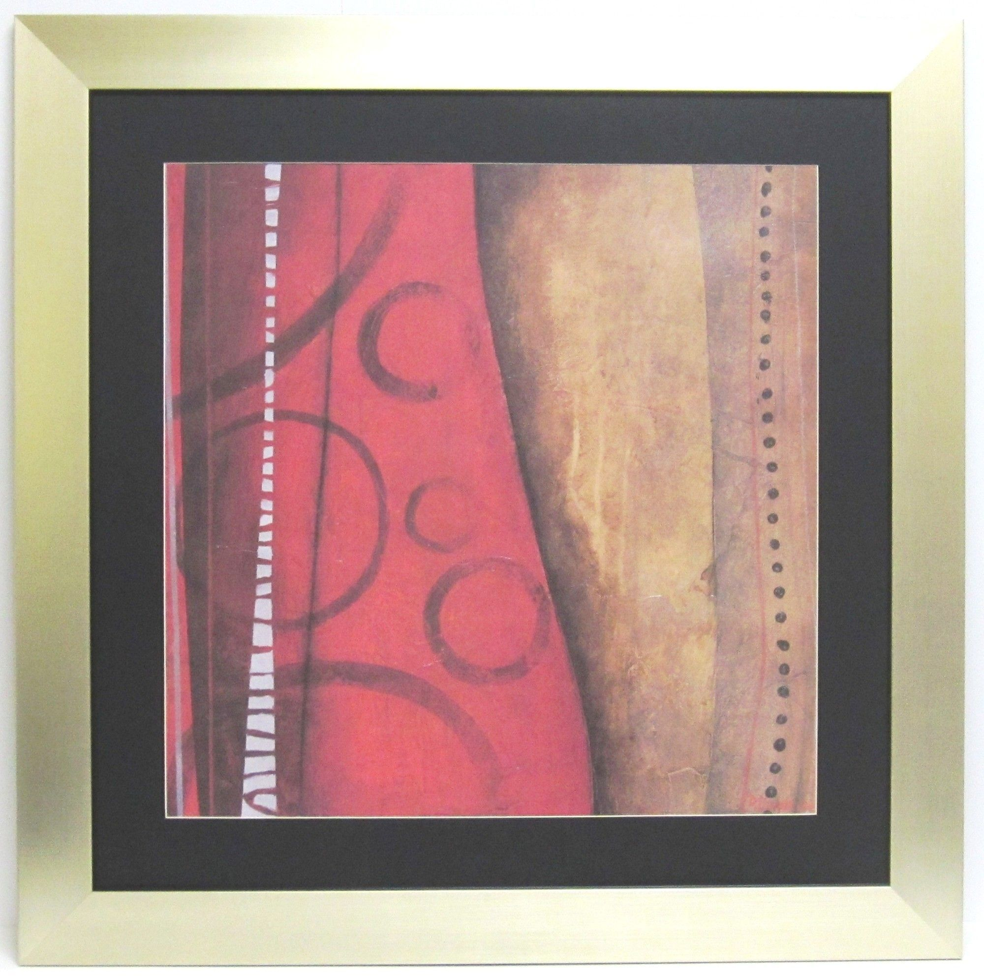 Premier red abstract framed graphic art products pinterest