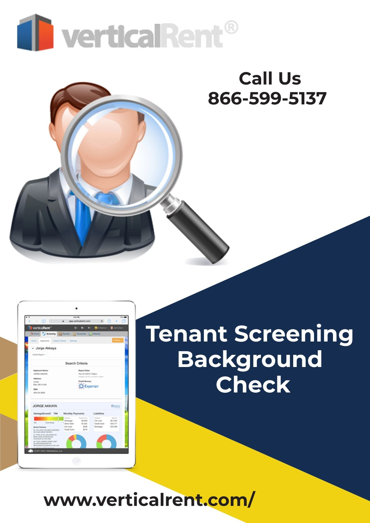 Verticalrent Provides Free Tenant Screening Background Check For