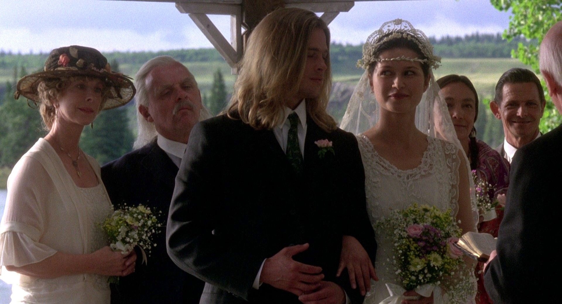 Wedding Isabel And Tristan. Legends Of The Fall.