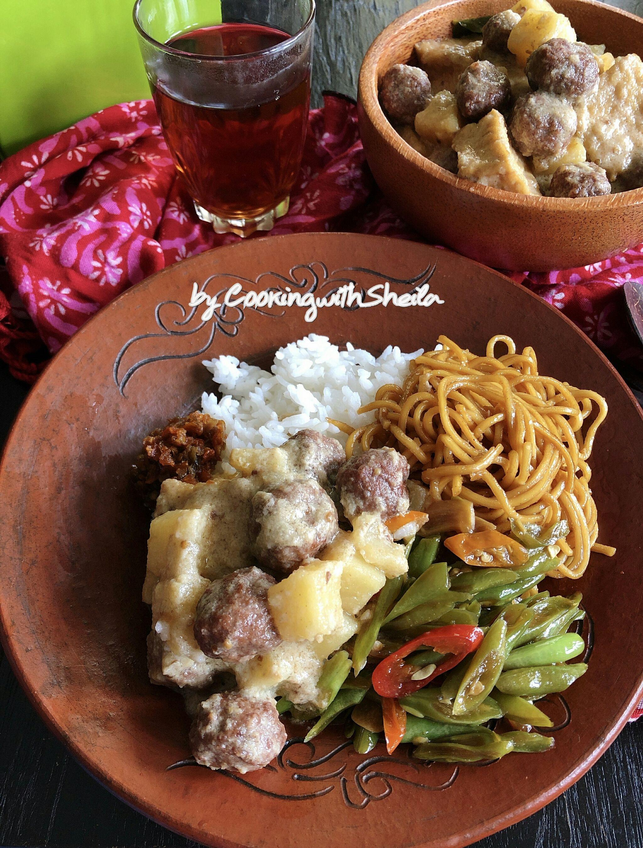 Terik Bola Sapi Resep Masakan Indonesia Masakan Indonesia Makanan Dan Minuman