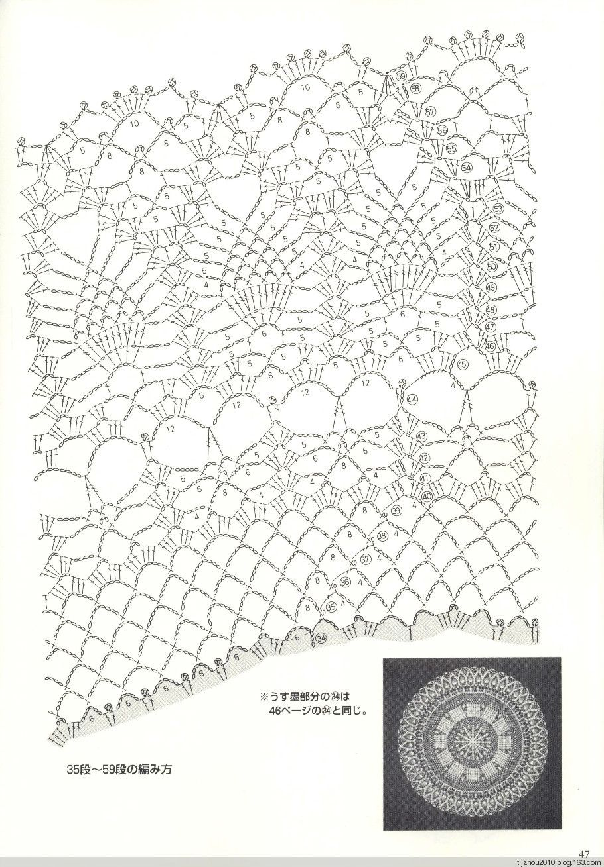 Suteki Pineapple Crochet Laces 2011 - 紫苏 - 紫苏的博客   вязание ...