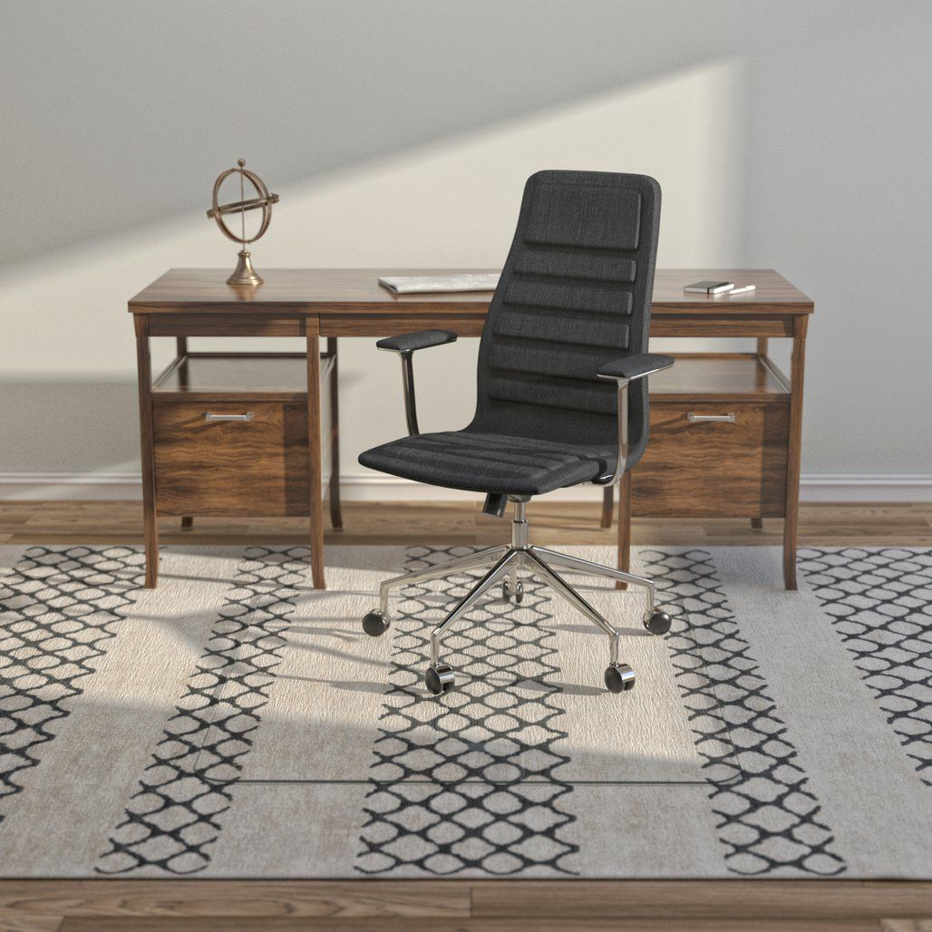 Glass Office Chair Mats Never Dent Mats by Vitrazza in