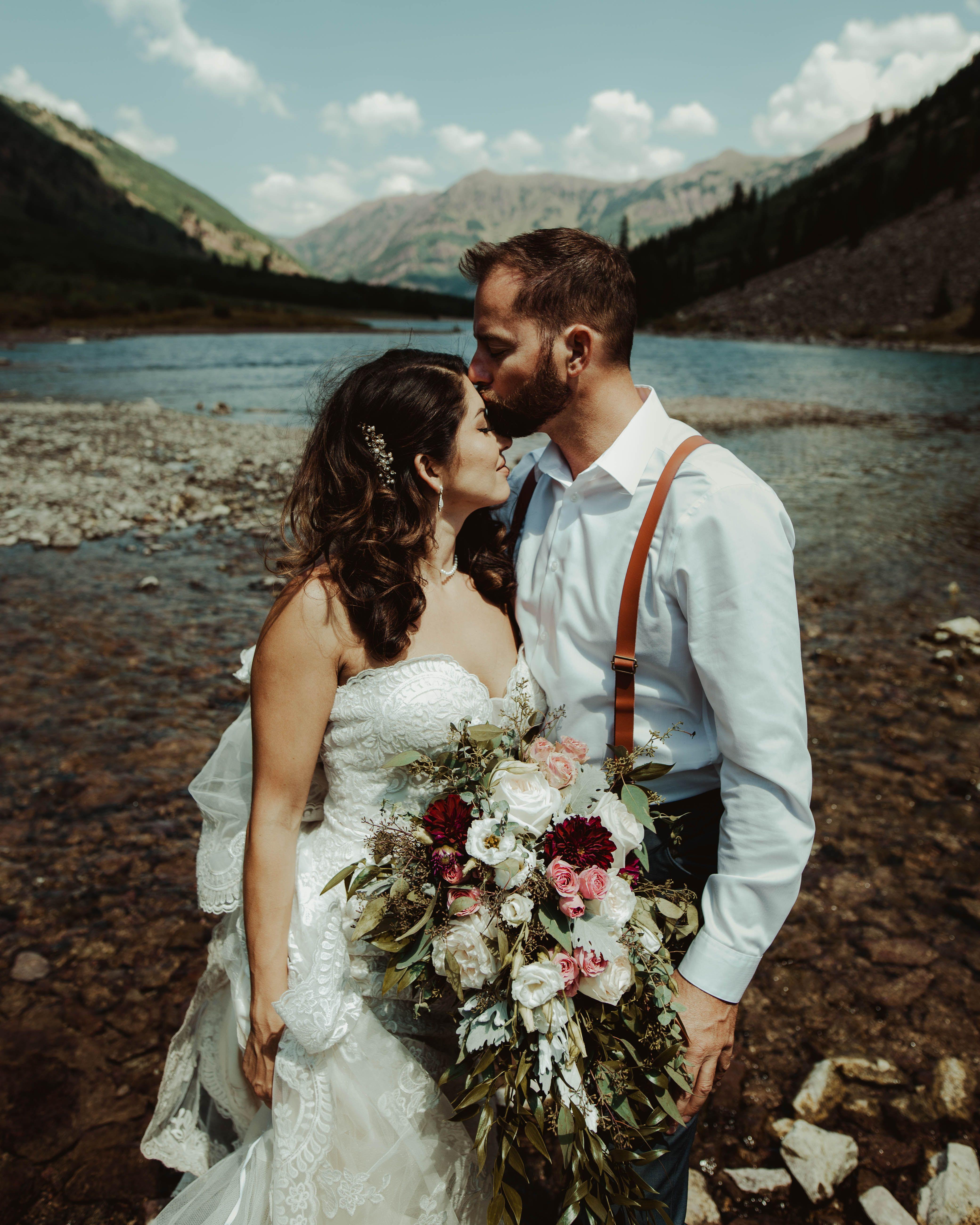 Nick Stefanny Aspen Colorado Wedding Photos Aspen