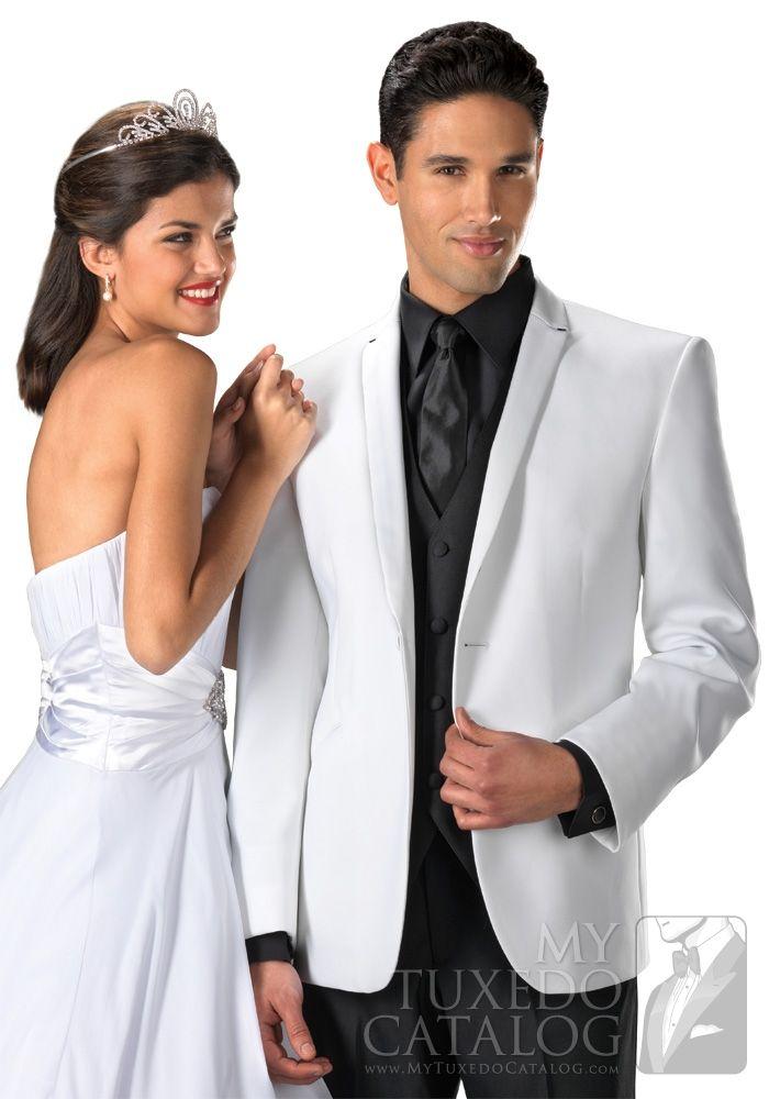 White \'Illusion\' Tuxedo from MyTuxedoCatalog.com   Quinceanera ...