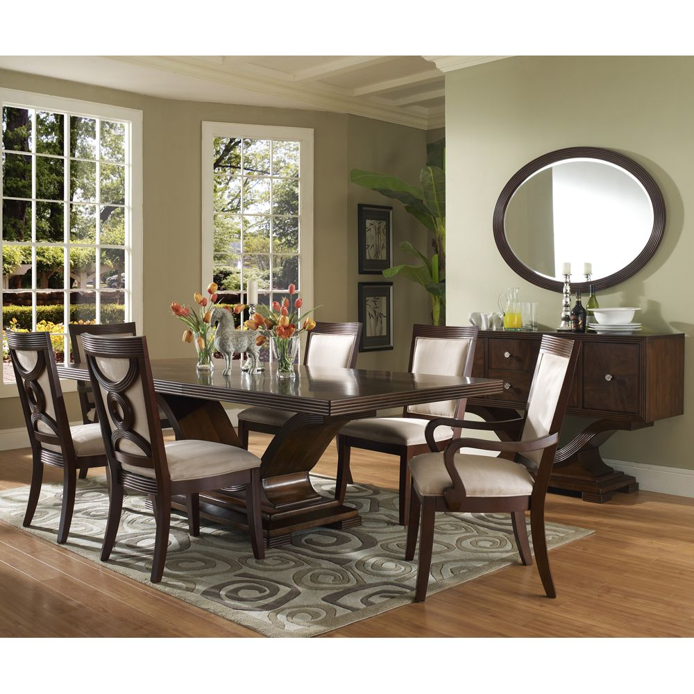 Dolce Rectangular Dining Table & Chairs By Somerton