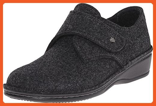 Finn Comfort Women's Adelboden Grey Wollfilz Loafer 36 (US Women's 5-5.5)  Medium