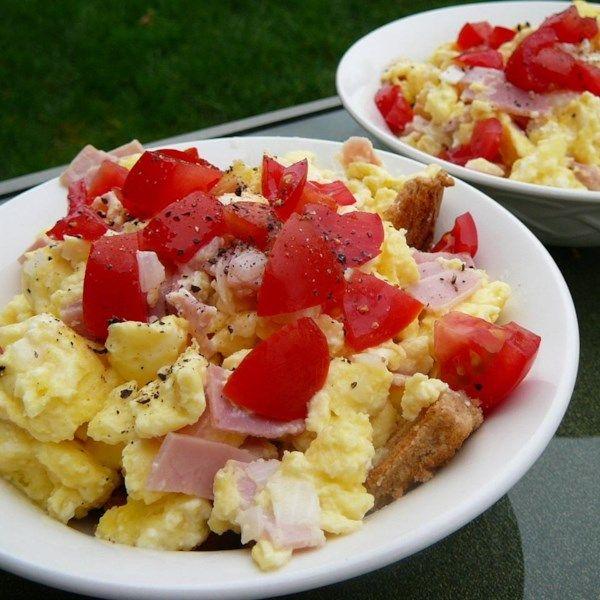 Ham And Avocado Scramble Recipe: Something Interesting With Egg