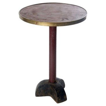 Check out this item at One Kings Lane! Antique Bistro Side Table