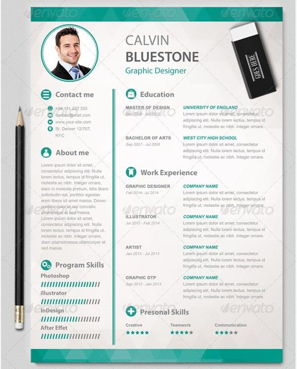 Graphic Designer Resume Template , Mac Resume Template u2013 Great for - attractive resume templates