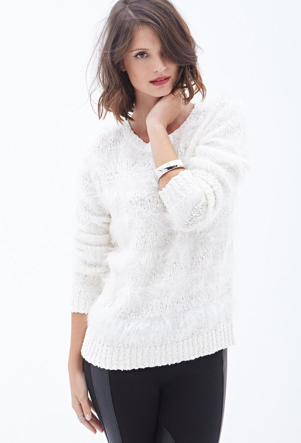 Feather,Knit Striped Sweater