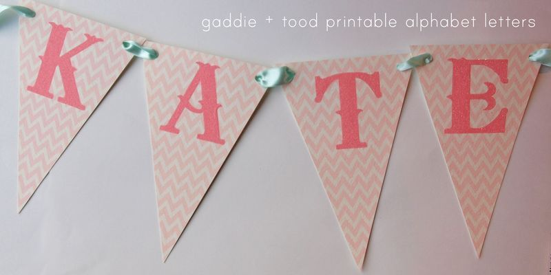 Awesome Website For Printable Banner Letters, Birthday Invites, Etc.