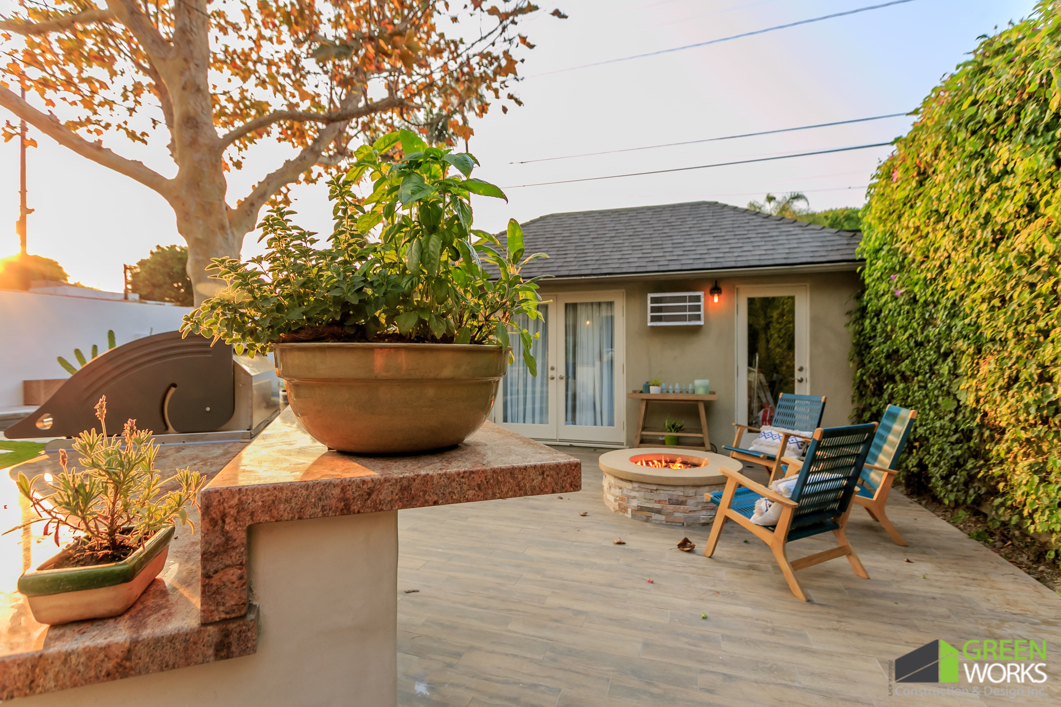 Los Angeles Outdoor Remodeling Contractors Design with ... on Backyard Renovation Companies id=54792
