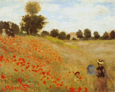 Les Coquelicots - Claude Monet - print from allposters.com: click here