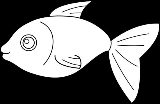 Happy Fish Coloring Page Free Clip Art Clip Art Fish Coloring Page Free Clip Art