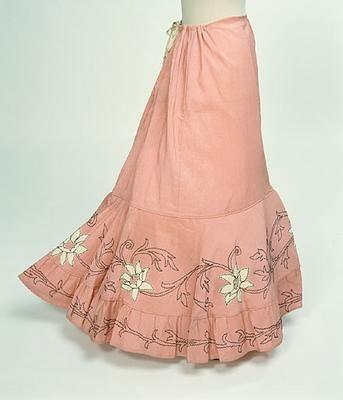 1890-1900 petticoat (1938.6). Belle ÉpoqueLa JalousieBoutique Pour FemmeDu  TempsLa Mode ... 61b22de5bab