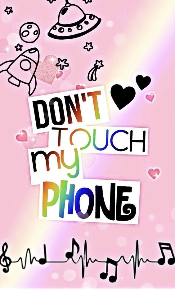 Para Celular Don T Touch My Phone With Images Dont Touch My Phone Wallpapers Wallpaper Iphone Cute Cute Emoji Wallpaper