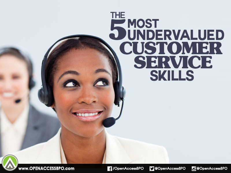 Do Your Agents Have These Five Undervalued But Critical Customerservice Skills Customer Service Skills Customer