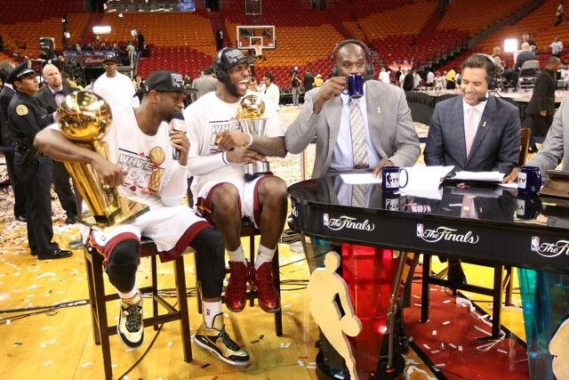 Wade and James with Tnt insider